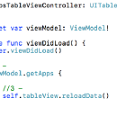Dabbling with MVVM in Swift 3