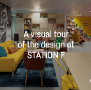 A visual tour of the design at STATION F