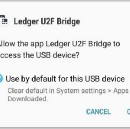 Using the Ledger Nano S hardware wallet with Android