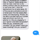 Texting With Famous Authors