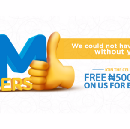 N500 FREE airtime for everyone as Zoto celebrates one million users!