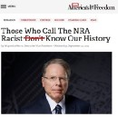 We know the NRA's history. Yes, it's racist.