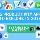 25 Productivity Apps to Explore in 2018