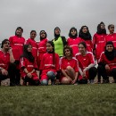 The all-female refugee football team that's smashing stereotypes
