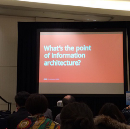 Catching the Big Fish — reflective practice in information architecture and UX design, IA Summit…