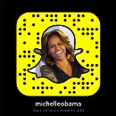 Spotted on Snapchat: MichelleObama