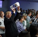 "Trump, Throwing Paper Towels At Puerto Ricans, Says ""Now Go Clean Up Your Mess"""