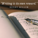 Life lessons on writing