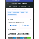 Chrome Custom Tabs for Android