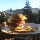 We tried making the Mushroom Swiss Burger from Modernist Cuisine and here's what happened