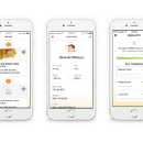 Nutrition mobile and wearable application — UX Case Study