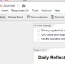 Tutorial: How to Journal Using Google Forms, For Ultra Fast and Efficient Journaling
