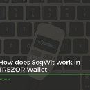 How does Segregated Witness work in TREZOR Wallet?