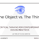 Critical Thinking For Contemporary Design Practices
