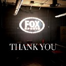 Thank you, FOX Sports, and what's next