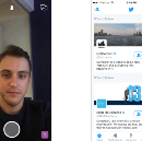 Feature Hierarchy: Twitter and Snapchat