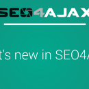 Introducing new features in SEO4Ajax