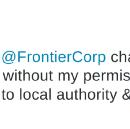 Frontier Internet Intentionally Defrauds The Public
