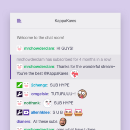 You can now send personal messages on sub anniversaries!