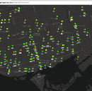 Visualizing transit vehicle locations on a map in real-time using React