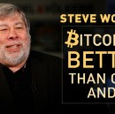 Steve Wozniak: Bitcoin is better than gold and USD
