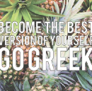 Going Greek!