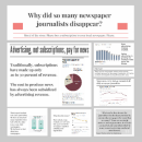 Why did so many newspaper journalists disappear?