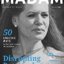 I redesigned the cover page of a few fashion magazines