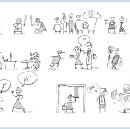 Sketching 101: How to draw minimum viable characters for storyboards (MVC's)
