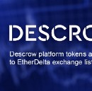 Descrow platform tokens are added to EtherDelta exchange listing
