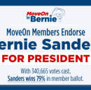 The Top 5 Reasons MoveOn Members Voted to Endorse Bernie (with the Most Votes and Widest Margin in…