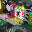 Chatting with Maciek Strychalski about Tokyo 42, designing for vertical freedom and working with…