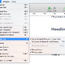 I assigned a ctrl+h shortcut for this menu item by using mac's system preferences > Keyboard …