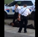 Video shows officer stomping a black man's head into the ground