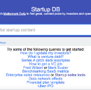 Startup DB: Search for relevant, curated posts by entrepreneurs & investors