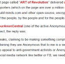Anonymous does not support (@Minds) Minds.com