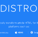 Distro.Mic: An Open Source Service for Creating Instant Articles, Google AMP and Apple News…