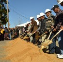 Surviving 1968 sanitation workers break ground on planned I AM A MAN Plaza