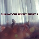 The Sunday Currently (Entry 1)