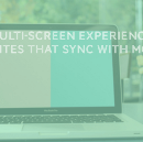 Multi-screen Experience : Websites that Sync with Mobile