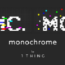 Rebranding Knowledge: Monochrome by 1THING