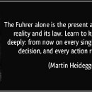 How to deal with 'the Nazi philosopher Martin Heidegger' when writing for a general audience