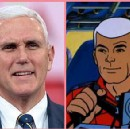"""Mike Pence Angrily Denies """"Absurd"""" Rumors He'll Run Against Trump, While Handing Out """"Pence 2020""""…"""