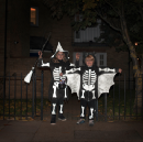 Be Scary, Be Safe: Keep children visible on the roads this Halloween with Volvo LifePaint