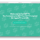 Cat GIF TV — Brings Cute Kitty Cat Gifs Directly to your Apple TV and iOS Devices.