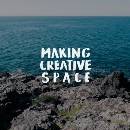 How do you give yourself the space necessary to create?