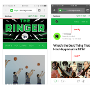 A Designer's Take on the Launch of The Ringer