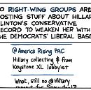 Right Attacks Hillary from… the Left?