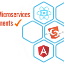 Front-end microservices with Web Components