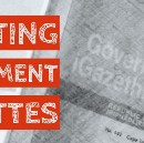 Liberating the Data in Government Gazettes